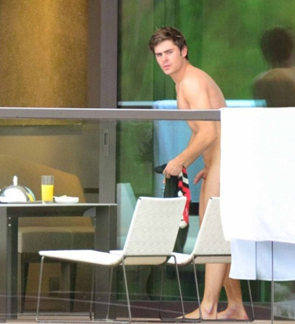Zac Efron Naked