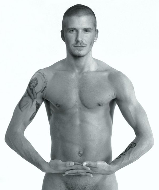 David Beckham Nude. Yummy David Beckham and sexy Victoria Beckham are having ...