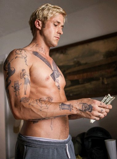 Ryan Gosling Nude